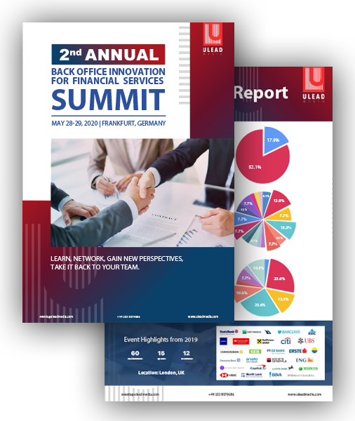 Back Office Summit for financial services Summit Agenda